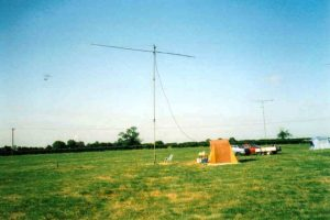 Antenna in a field