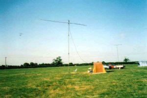 Antenna in a field